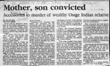 Mother, Son Convicted
